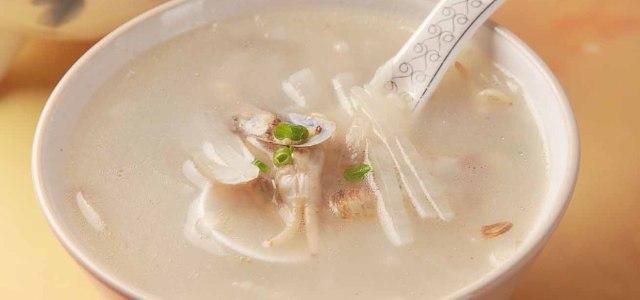 白萝卜蛏子鲜汤