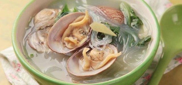 小白菜蛤蜊汤