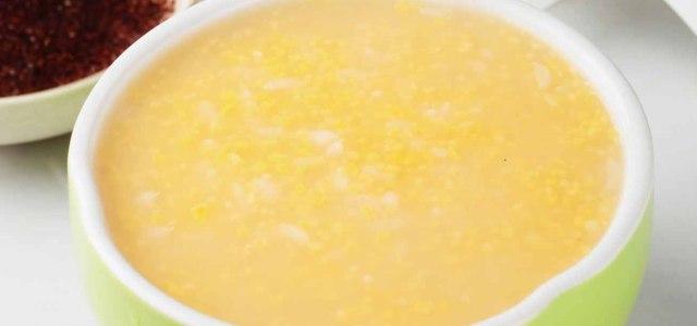 金黄色的粥
