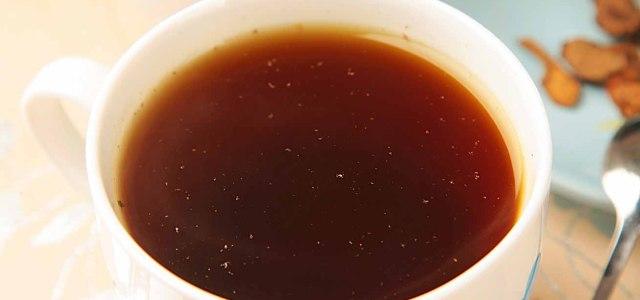 色浓味甜大黄茶