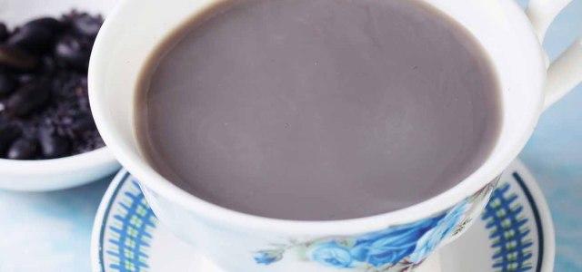 让你拥有乌黑亮发的黑豆浆