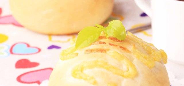 天然酵母卡仕达酱面包