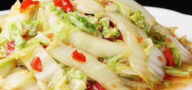 香辣开胃的大白菜