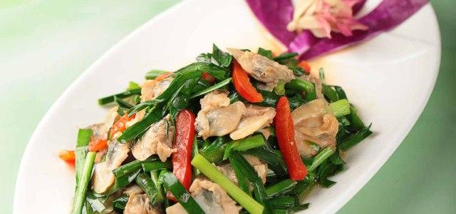 河鲜与蔬菜的美味在家就能烹饪