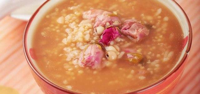 玫瑰薏米粥