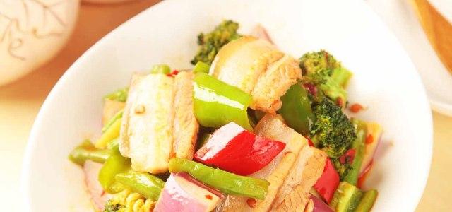 美味酱香蔬菜