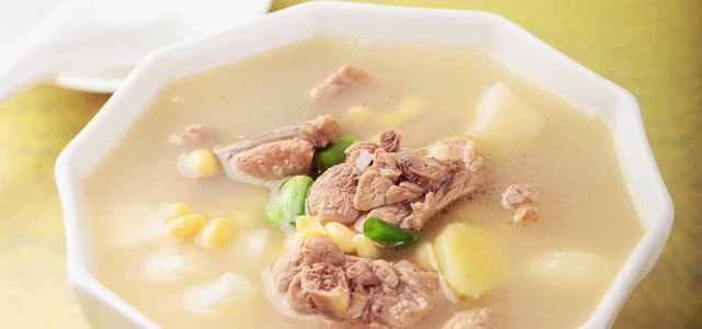 黄豆马蹄鸭肉汤