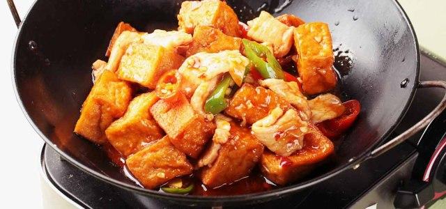 干锅豆腐最香脆