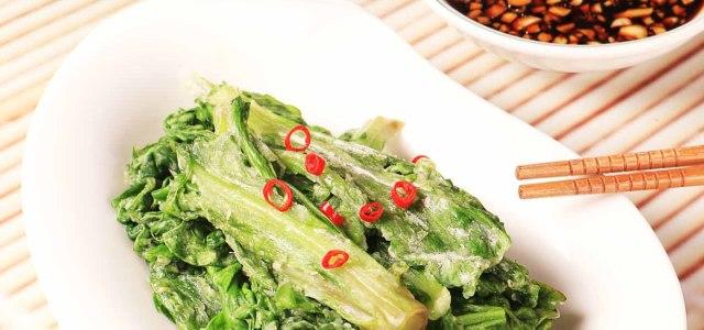 原汁原味的蒸蔬菜
