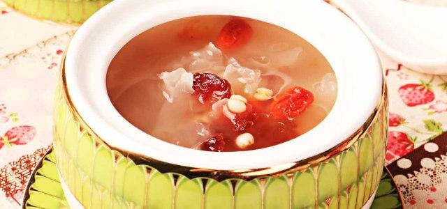 养颜桃花汤
