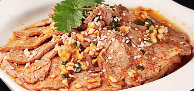 坚果油香猪肉的完美兼容