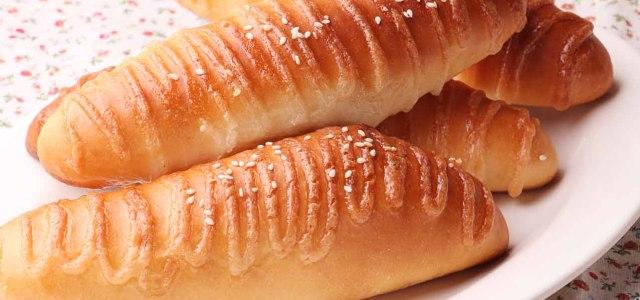沙拉酱味的面包