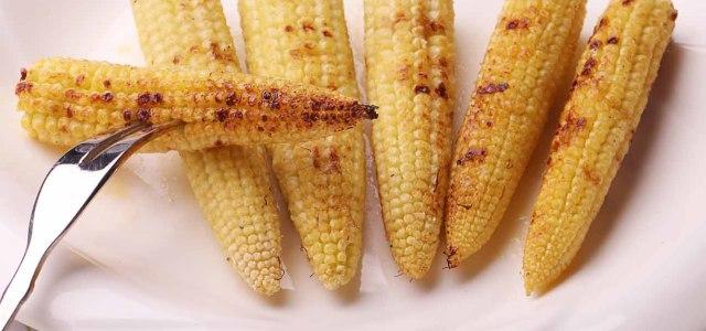 玉米烤食更香