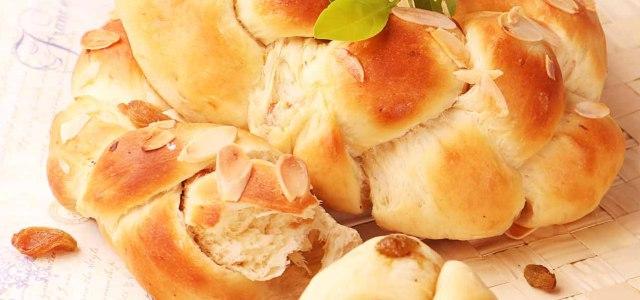 像花环一样的面包