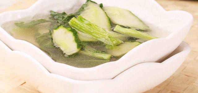 芥菜黄瓜汤