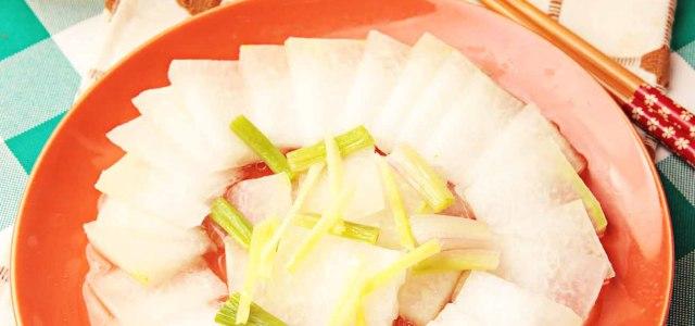 姜丝蒸冬瓜