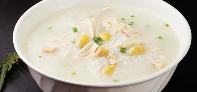白果腐竹大米粥