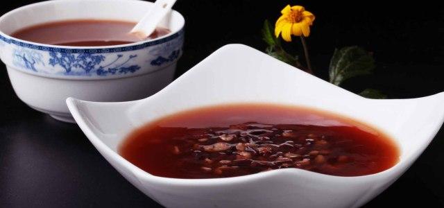 赤小豆麦片粥