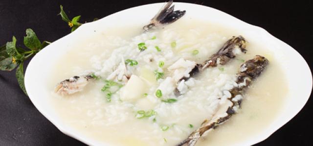 蒜香好味鱼粥