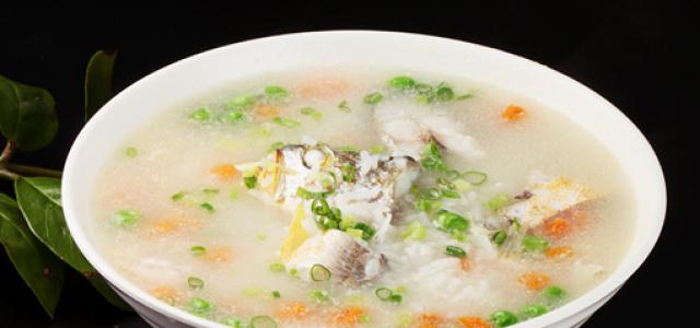 黄鱼豌豆粥