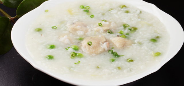 鸡翅豌豆粥