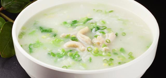 牛肚青菜粥