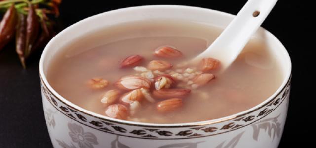 燕麦花生小米粥