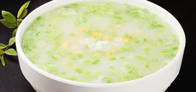 芹菜玉米粥