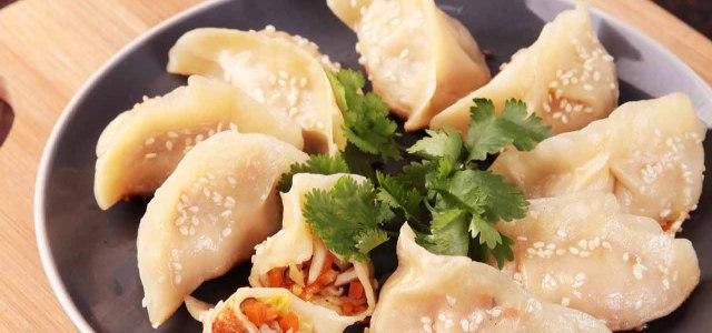 生煎白菜饺