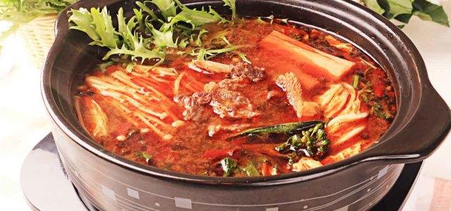 麻辣牛肉火锅