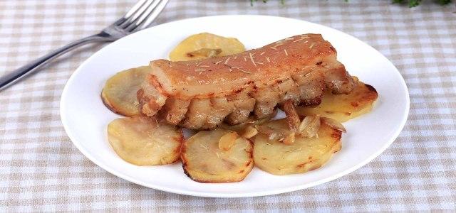香脆可口的烤猪肉