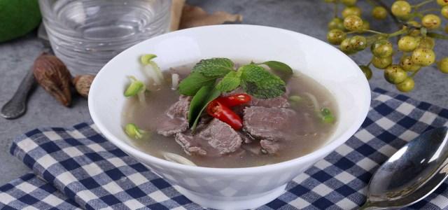 越南风味的牛肉汤