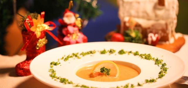 法式鲜虾浓汤