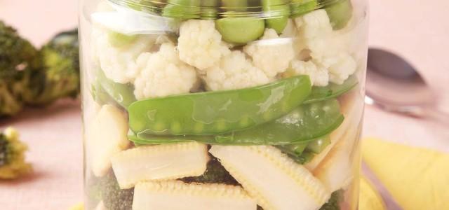 玉米笋西蓝花沙拉