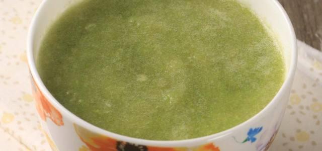 芦笋卷心菜浓汤