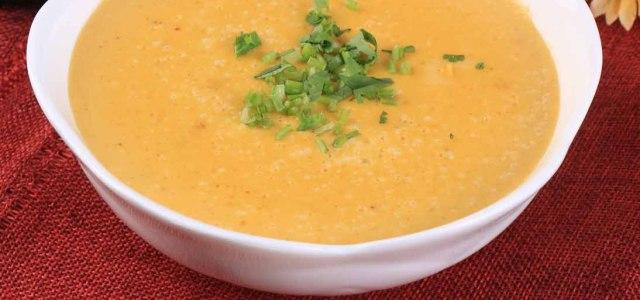 香浓的奶油胡萝卜汤