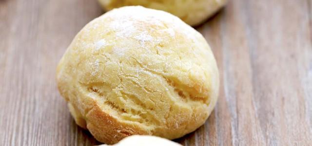 简单圆面包