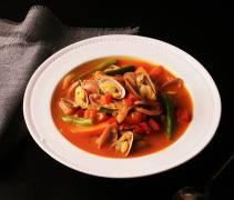 蛤蜊蔬菜爽口咖喱