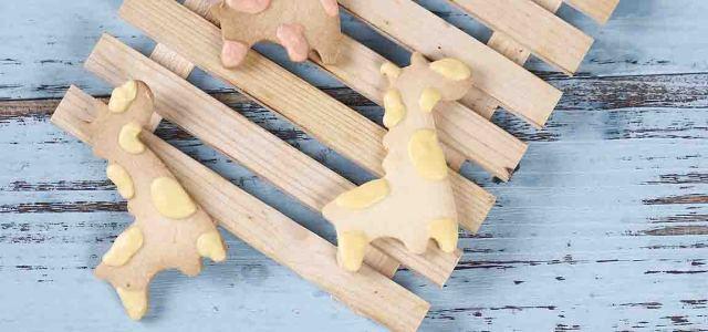 长颈鹿装饰饼干