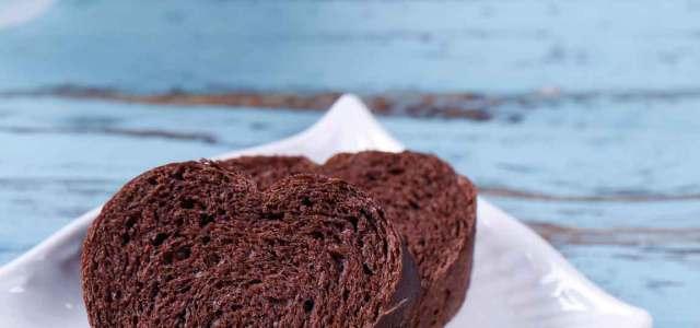 心型巧克力面包