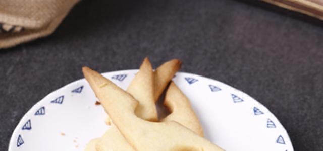 奶酪造型芝士饼干。
