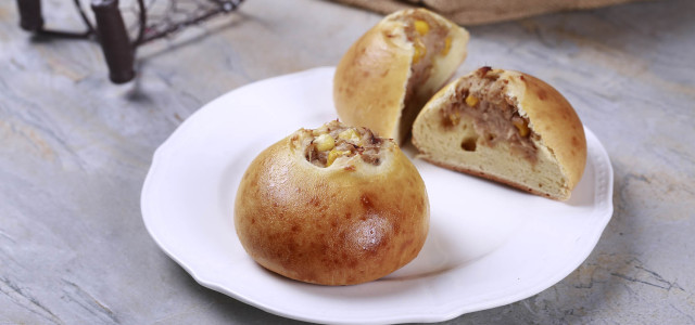 馅料十足的小面包,满足你的大胃口!