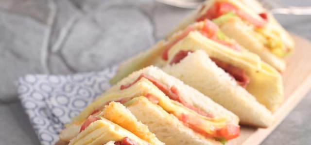 美式小酒馆三明治