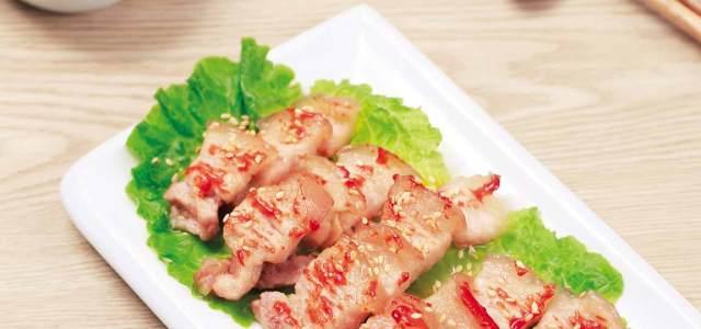 韩式香烤五花肉