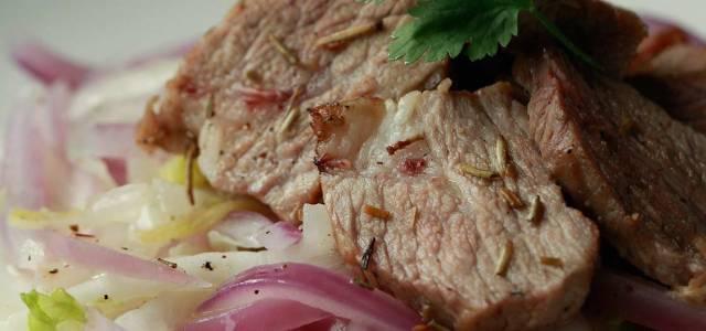 醋渍猪颈肉
