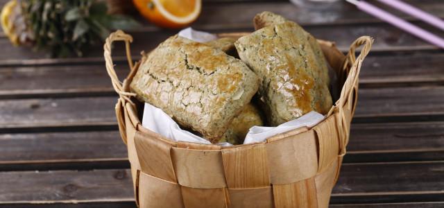 日本风情司康面包。