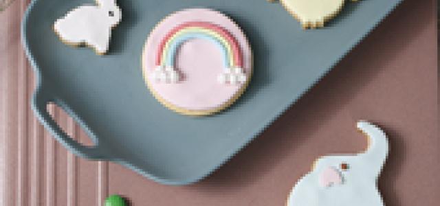 六一儿童节快乐,送给孩子最可爱的翻糖饼干吧!