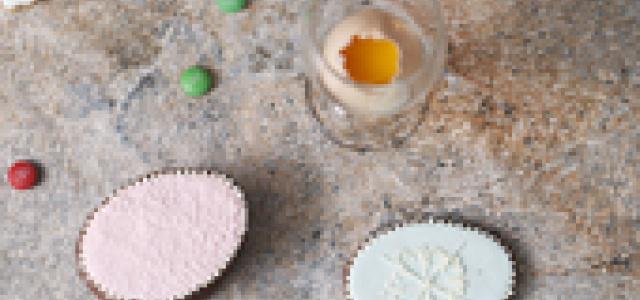 教你制作一个精美的复活节饼干糖盒。