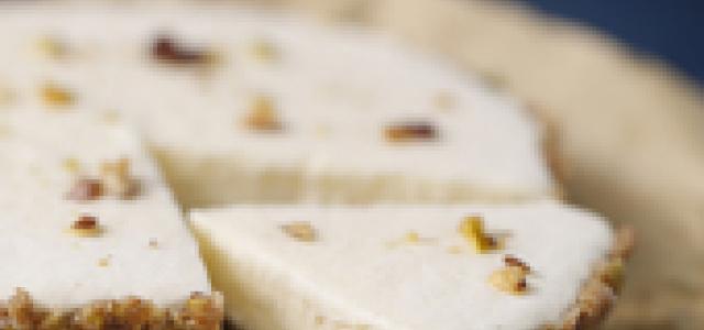 口感细腻的生乳酪蛋糕。