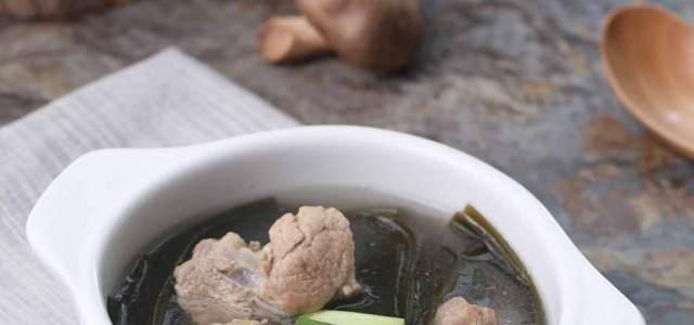 棒骨海带汤